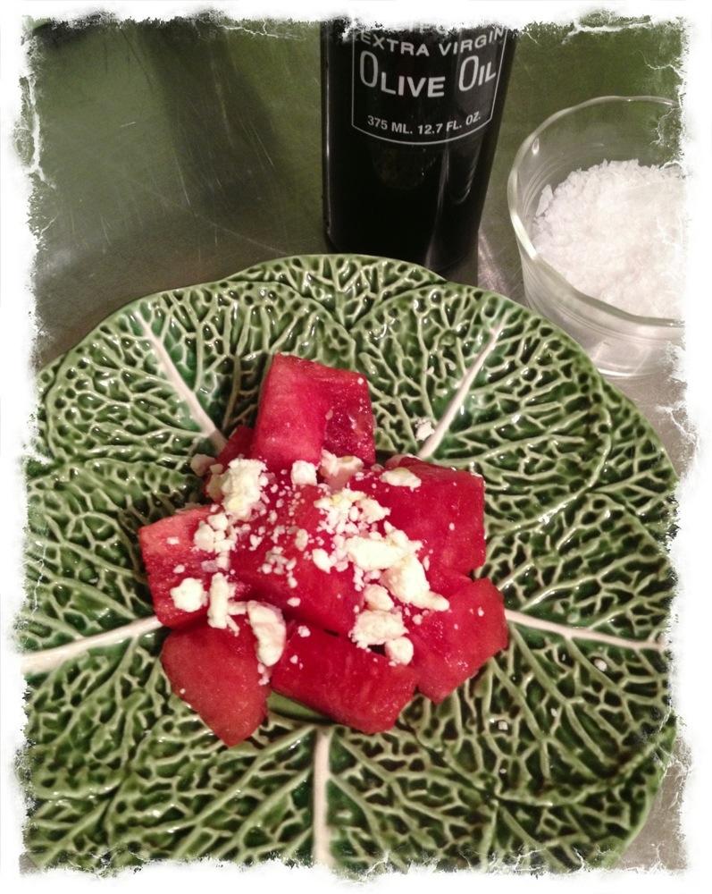 Watermelon Salad with Feta » Ted Kennedy Watson